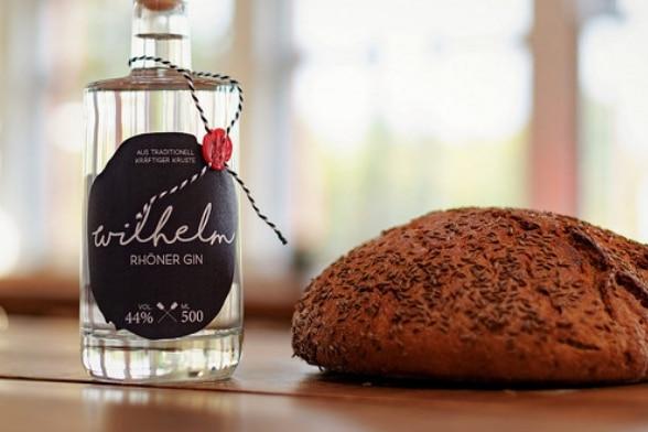 """Unser """"Wilhelm - Rhöner Gin"""": ein Gin aus Brot"""